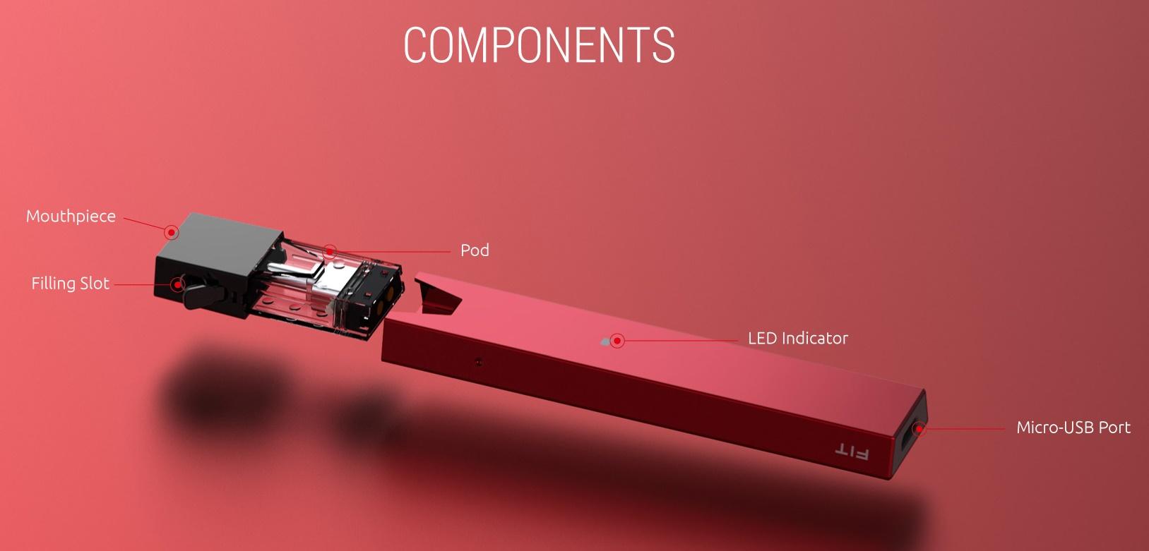 Fit Kit cigarette electronique avec pod