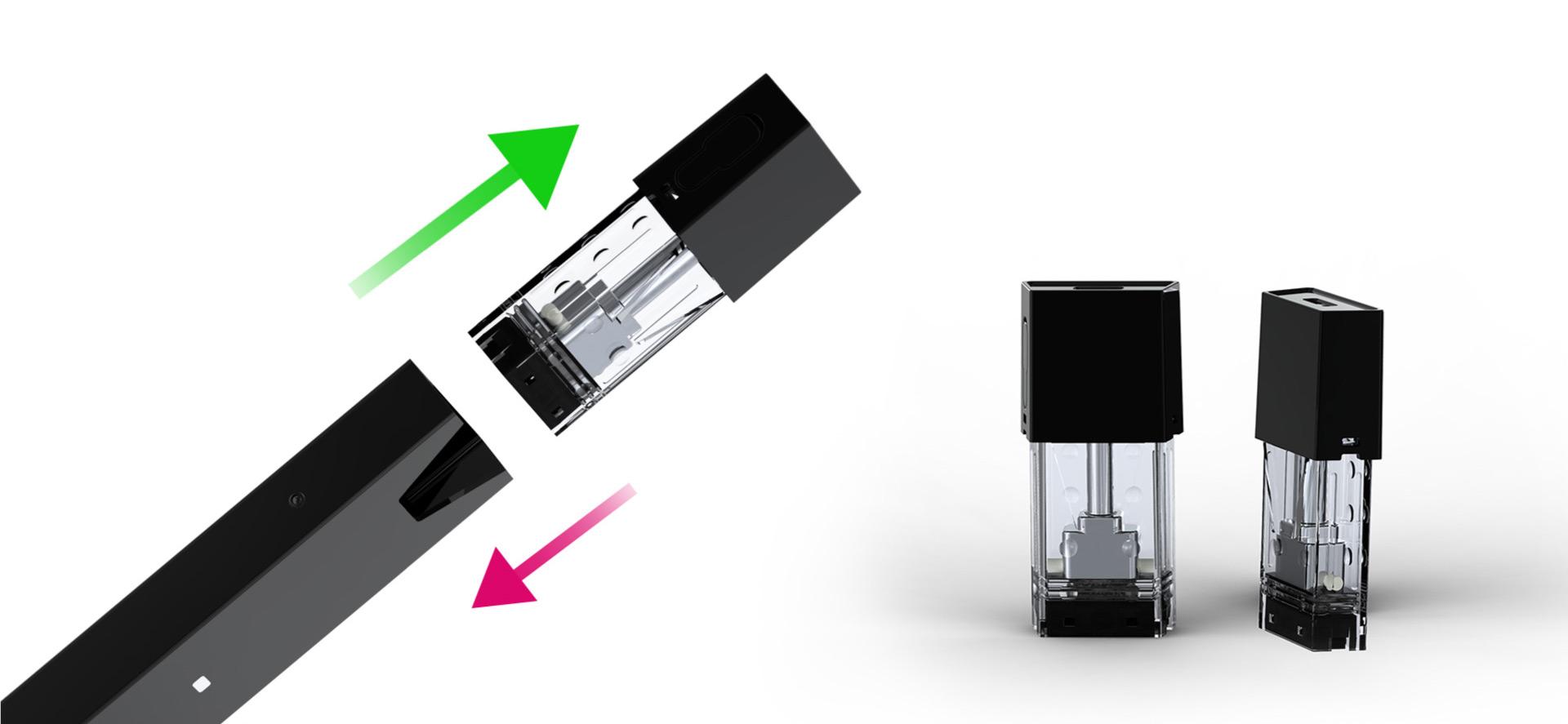 fit kit e cigarette pod interchangeable suisse