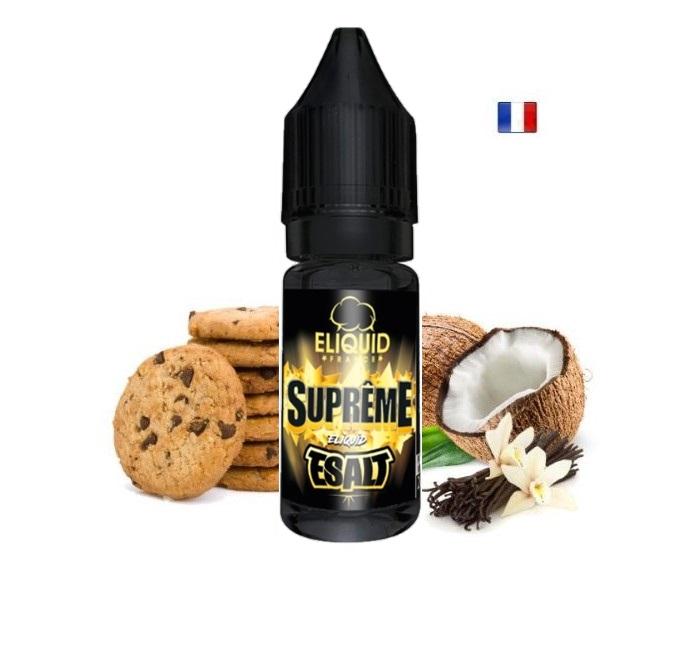 supreme esalt sels de nicotine gout tabac eliquidefrance