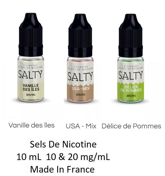 salty sels de nicotine savourea eliquide sels de nicotine livraison 24h suisse