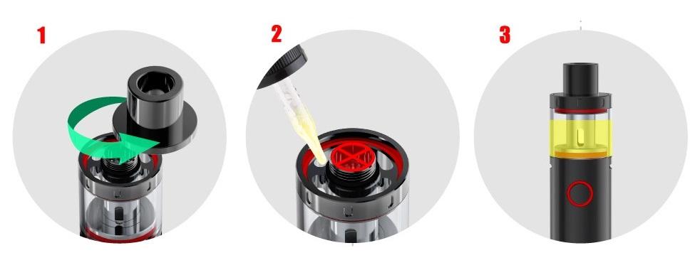 Topfilling kit vape pen plus suisse