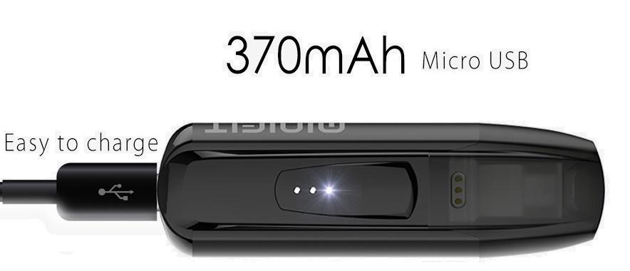 rechargement Kit minifit justfog par micro USB livraison en suisse en 24h