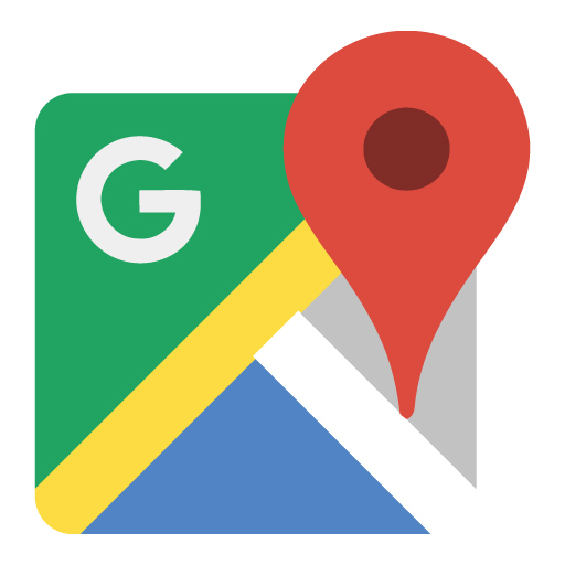 New Google Maps logo vector logo