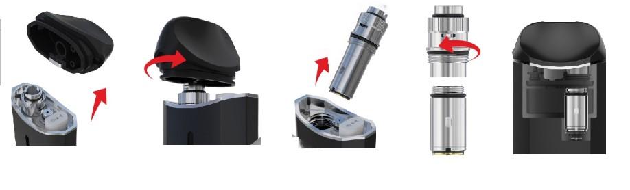 Nexus facile a remplir et remplacer le coil