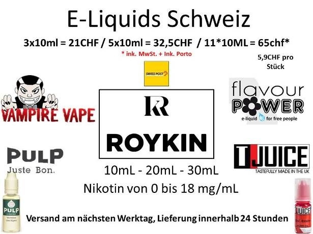 E liquide fur elektronisches zigaretten lieferung in Schweiz (Lausanne, Basel, Biel)