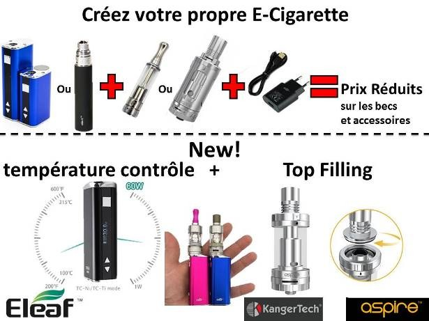Mods Sub Ohm cigarette électronique Suisse